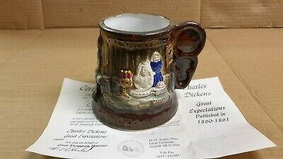 Great Expectations Charles Dickens Ltd Ed Great Yarmouth Pottery Tankard Mug  • 8.95£