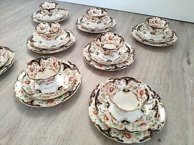 Antique Duchess Fine China Teacup, Saucer And Tea Plate. C.1907 Edwards & Brown • 120£