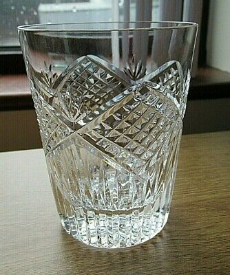 Rare Tyrone Crystal 10 Oz Tumbler 4  Tall Slieve Donard Pattern Vgc Signed • 23£