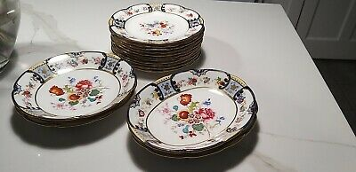 Vintage Hammersley & Co., Antique Plate Set • 90£