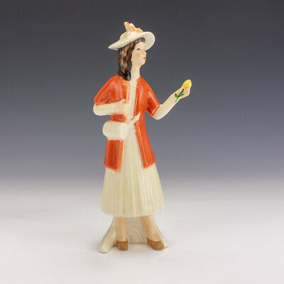 Vintage Goebel Porcelain - Young Lady With Flower Figurine - Lovely! • 14.99£