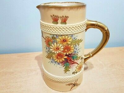 Early W & R  Blush Ware Hand Finished Jug. Livingstone Daisy #1534. Ex Condition • 39.99£