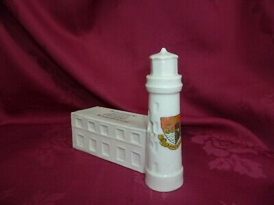 WW1 Crested China   Scarborough Lighthouse • 100£