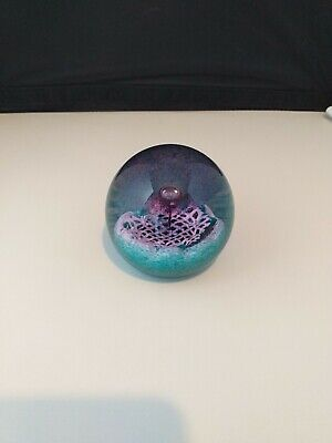 Caithness Glass Paperweight Flower Of Scotland. • 7.50£