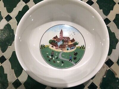 Villeroy And Boch 'Naif' Design Cereal/Soup Bowls. Vintage Form The 1980's • 11.50£