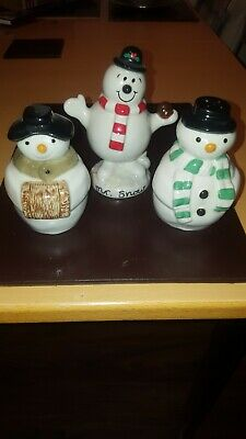 Wade Mr Snow And Wade Salt And Pepper Set • 9.99£