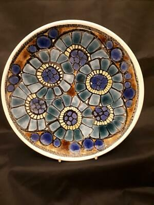 Poole Pottery Aegean Plate/Bowl -  8 Inches - Number 3 • 27.99£