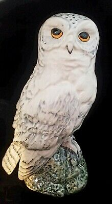 Royal Doulton Snowy Owl Decanter Whyte & Mackay Whisky 1984  With Stopper • 27£