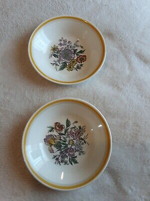 Vintage Collectible Small Trinket Dishes X2 Grays Pottery Stoke-on-Trent 135 Mm • 4.99£