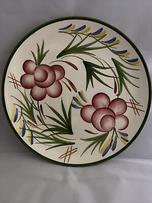 Vintage Royal Victoria WADE Pottery Hand Painted Floral Pattern Plate • 7£