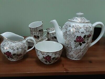 VintageTea Set 15 Piece Royal Wessex White Ironstone SwinnertonsCOLLECTION ONLY  • 19.99£