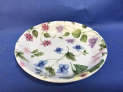 Queens Country Meadow Preserves Dish Butter Jam Dish Rosina Tea Service • 6.99£
