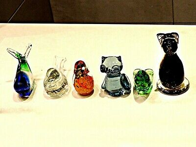 Glass Animal Ornament Collection > Six Delightful Ornaments • 24£