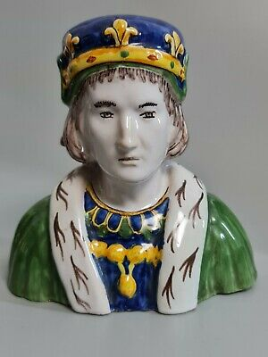 Fine Quality French Faience Porcelain Bust C1880  • 0.99£