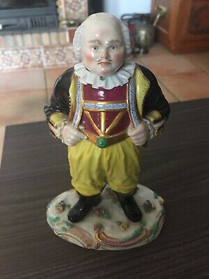 Rare Meissen Porcelain Nodding Figure Of Frohlich Exc Condition.Valued 2-3000 • 900£