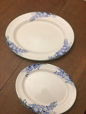 Forget Me Not - 2 X Platters - Solian Ware • 18£