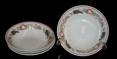Boots Co Plc Nottingham 6.5 Inch Diameter Bowls In The Orchard Design • 10£