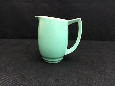 Branksome Graceline Green And Peach Colour Jug, Used Condition. • 12£
