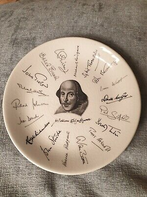 Shakespere Exhibition Holkham Plate Made For WH Smith • 0.99£