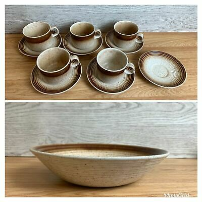 Churchill Homespun Stonecast Woodstock 6 Saucers 5 Cups And 1 Bowl  • 36.99£