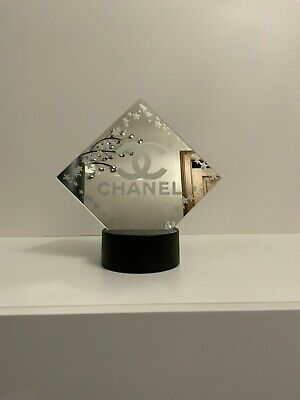 Decorative 15cm Mirror With Chanel Logo On It With Led Light And Remote • 15.99£