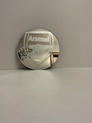 Decorative 15cm Mirror With Arsenal Logo On It • 7.99£