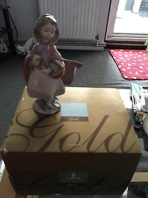 Used Boxed Lladro Gold Privilege Little Red Riding Hood 08500 • 85£