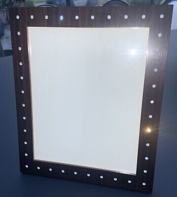 Linley Wooden Photo Frame With Swarovsky Crystals - By David Linley 10x8 Inches • 220£