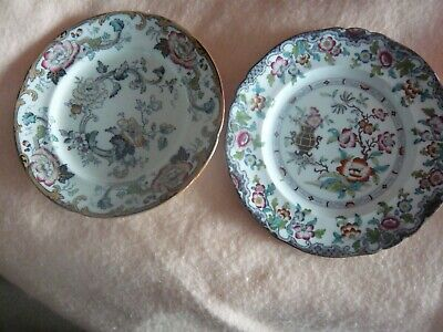 Ridgway One  simlay Plate  and One California , 26cm Vintage • 15£