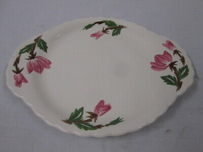 American Beauty Canonsburg Pottery Serving Plate • 20.67£