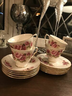 Queen Anne 8679 Cups Saucers And Side Plates Replacements • 15£