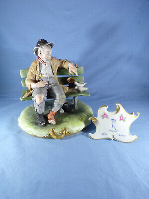Capodimonte Called Good Hearted Tramp By Bruno Merli • 70£