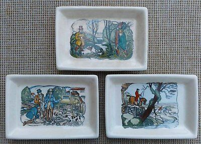 Plichta  - Selection Of Sporting Themed Trinket Dishes / Trays - Eric Bailey. • 7.99£