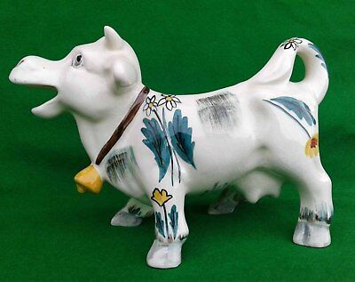 Shorter & Sons (staffordshire) - Hand Painted Cow Creamer. • 24.99£