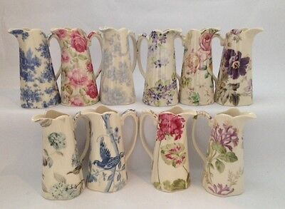 Lord Nelson Ware Shabby Chic / Vintage Style Ceramic Edwardian 10  Jug Various • 29.95£