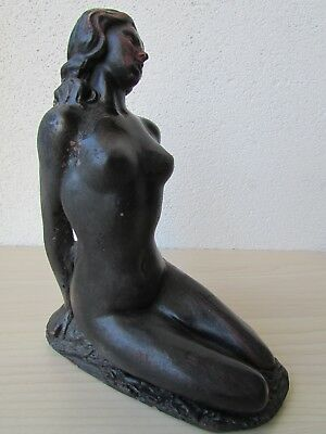 Nude Figurine Made From Real Irish Turf Collected From Bogs, Made In Ireland • 29.95£