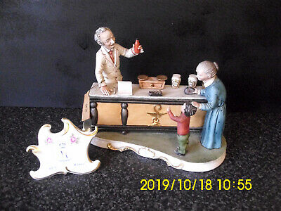 Capodimonte Figure The Apothecary's Shop By R.Guidolin • 60£