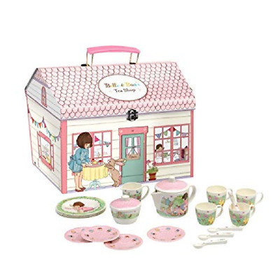 Belle And Boo Tea Set Melamine Childrens Kids  BRAND NEW By Elite Tins • 29.95£