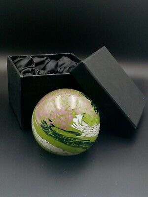 Strathearn 'Kaleidoscope' / Pine Green (P38) - Paperweight, 1978-80, In Gift Box • 40£