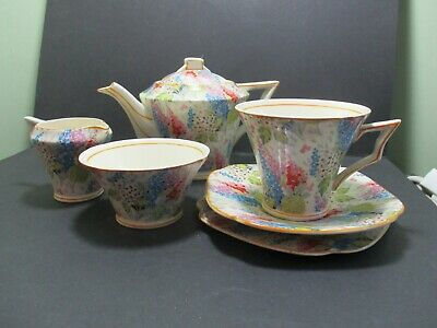 Tams Ware Melody Chintz Tea For One Set • 78£