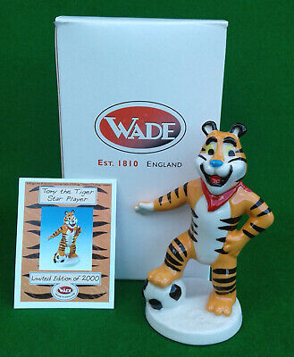 Wade - Tony The Tiger Star Player (kelloggs) - Limited Edition - Boxed. • 7.99£