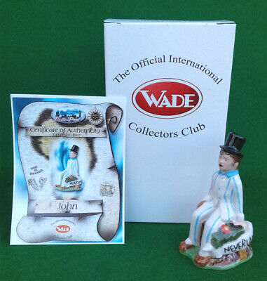 Wade - John From The Peter Pan Collection 2000 - Limited Edition  - Boxed. • 5.99£