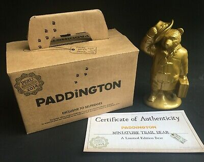 Rare Wade Paddington Trail Bear - Goldie By Kate Moss (Boxed/Certificate) Ltd Ed • 39£