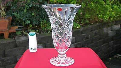 Stunning Vintage Irish Tyrone Crystal Deep Cut Footed Bowl 1st Quality • 24.95£