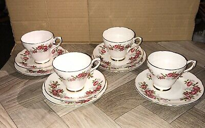 Royal Sutherland Bone China Tea Set • 16£