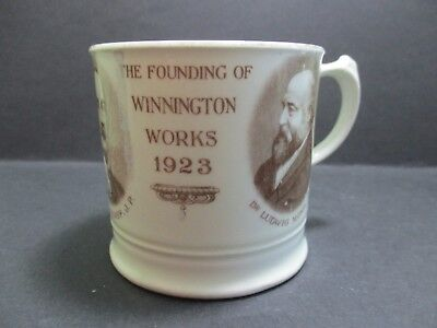 WINNINGTON WORKS , NORTHWICH - 50th ANNIVERSARY SOUVENIR MUG • 18£
