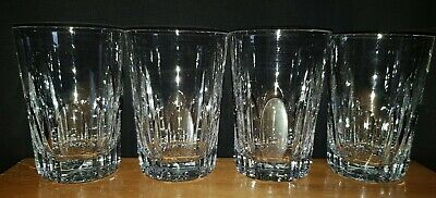 Set Of Four Lead Crystal Highball Tumblers  • 20£
