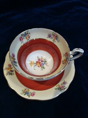 Vintage EB Foley Bone China Cabinet Cup & Saucer  • 12£