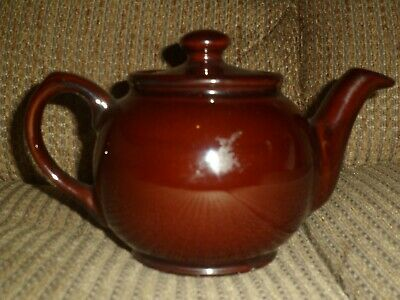 Vintage SADLER Small  Brown Betty  Treacle Glazed 2 Cup Teapot (400ml).  • 2.99£