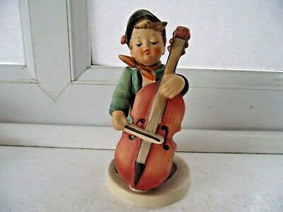 Vintage Hummel Goebel Sweet Music Figure 186 Boy With Cello See Pictures  • 24.50£